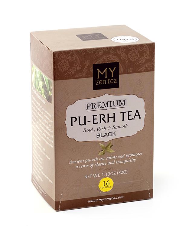Pu erh tea bags